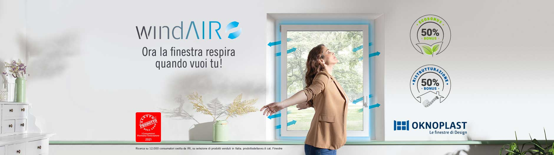 Prolux Evolution finestre in PVC