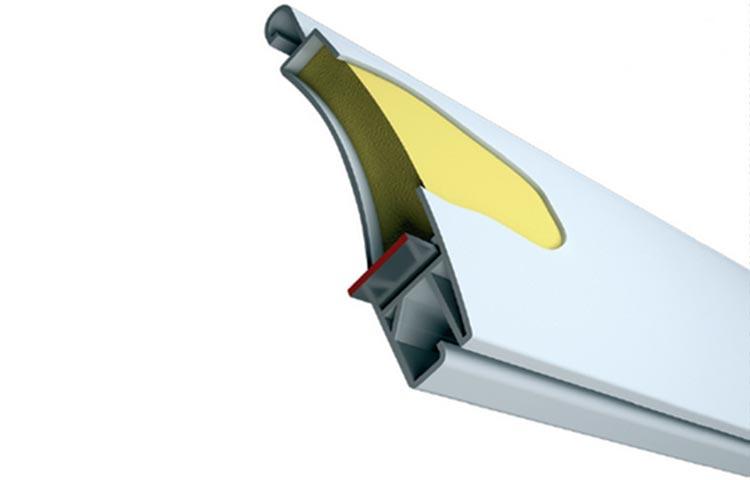Alluminio PVC coibentato